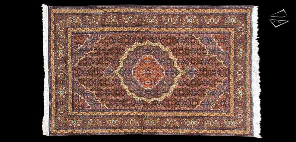 7x11 Persian Ardebil Rug