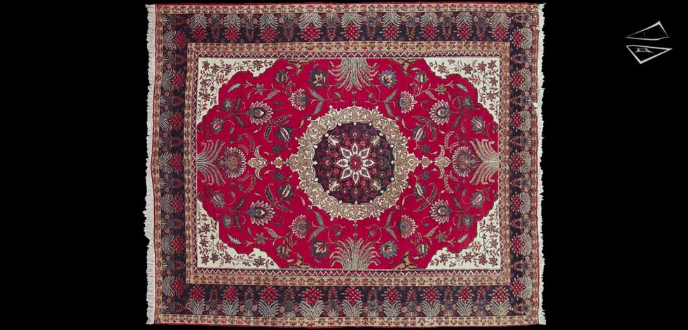 10x12 Persian Ardebil Square Rug