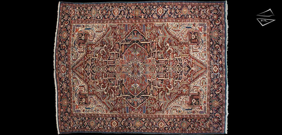 11x14 Persian Bakshaish Rug