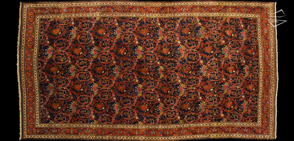 13x24 Persian Bijar Rug