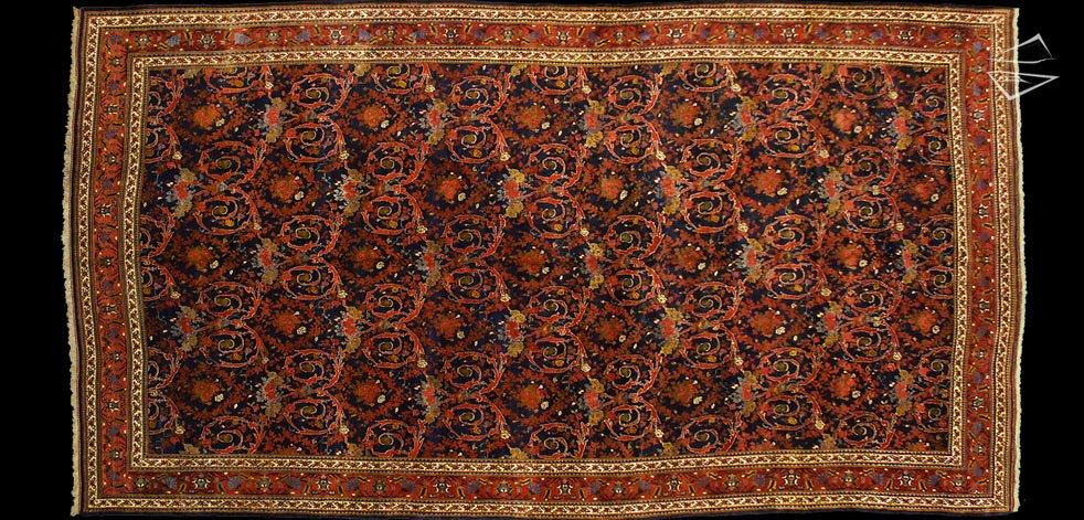 13x24 Persian Bijar Rug