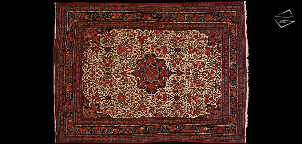Delightful 8x12 Persian Bijar Rug