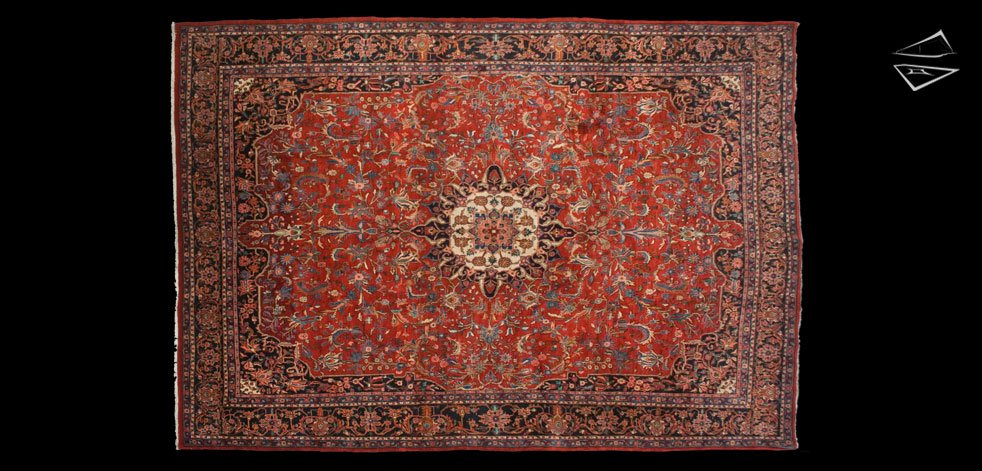 9x13 Persian Bijar Rug