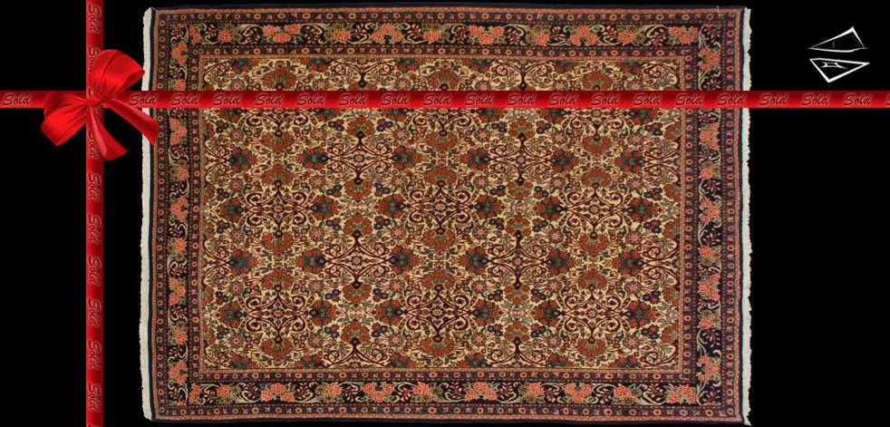 7x10 Persian Golpaygan Rug