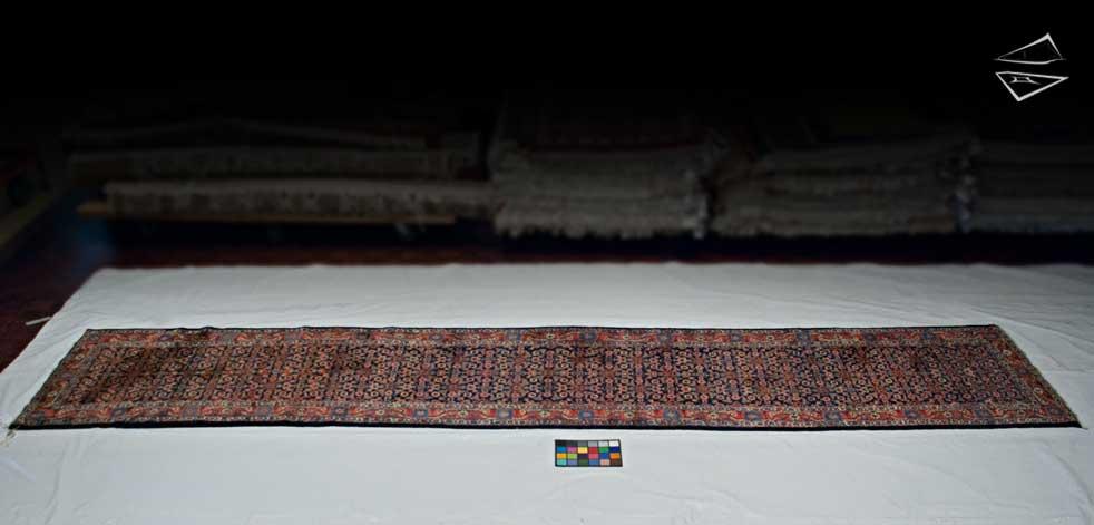 3x16 Persian Hamadan Rug Runner
