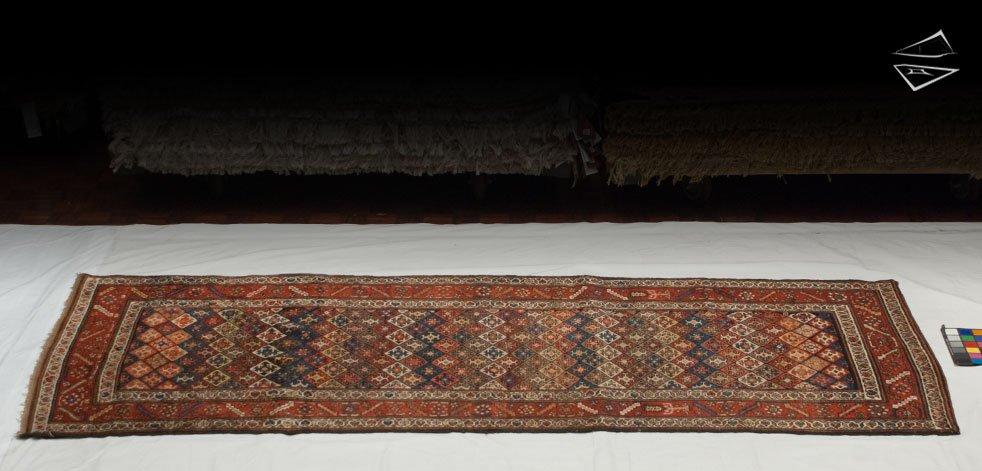4x10 Persian Hamadan Rug Runner