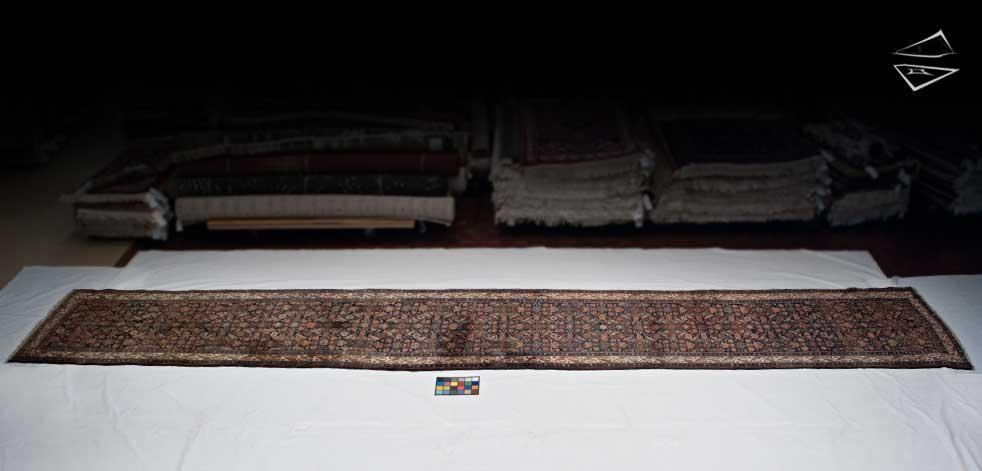 4x23 Persian Hamadan Rug Runner