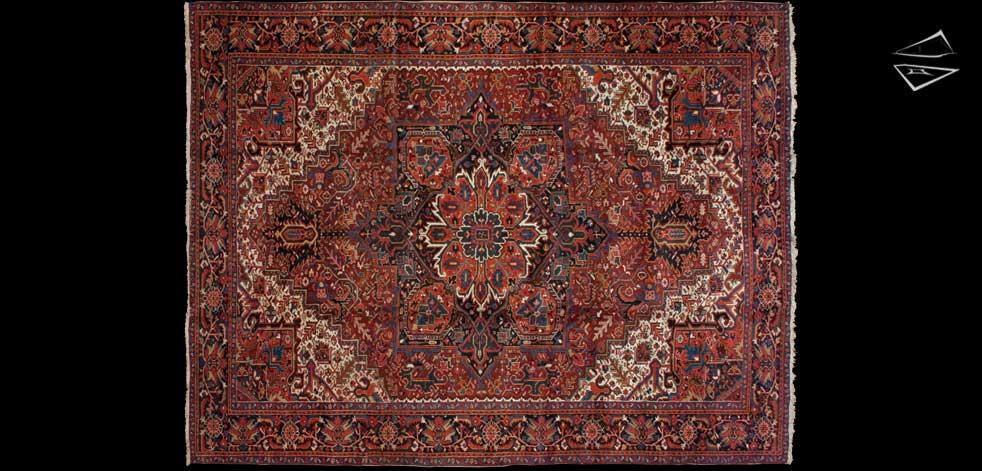 10x13 Persian Heriz Rug