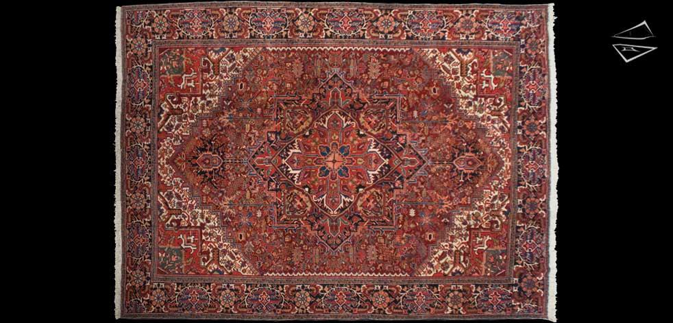 11x15 Persian Heriz Rug