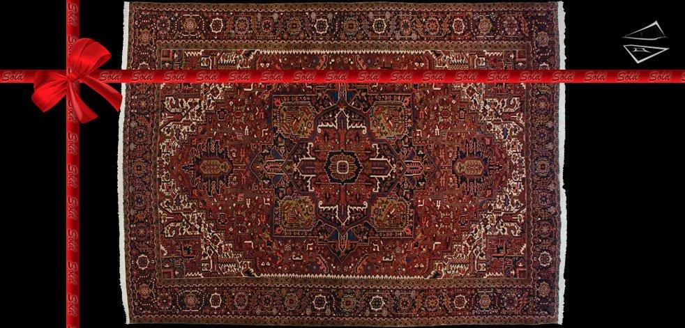 12x15 Persian Heriz Rug