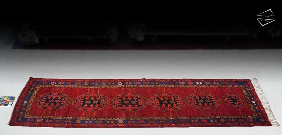 4x11 Persian Heriz Rug Runner