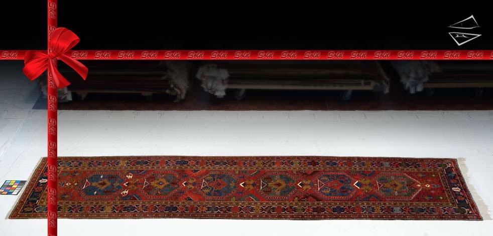 4x14 Persian Heriz Rug Runner