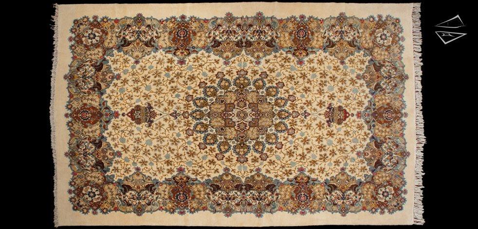 10x16 Persian Kashan Rug