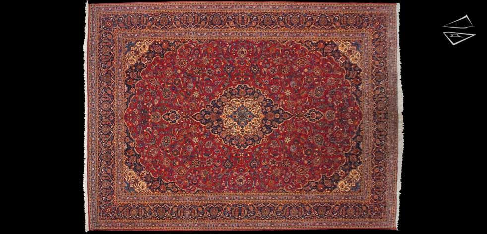 11x15 Persian Kashan Rug
