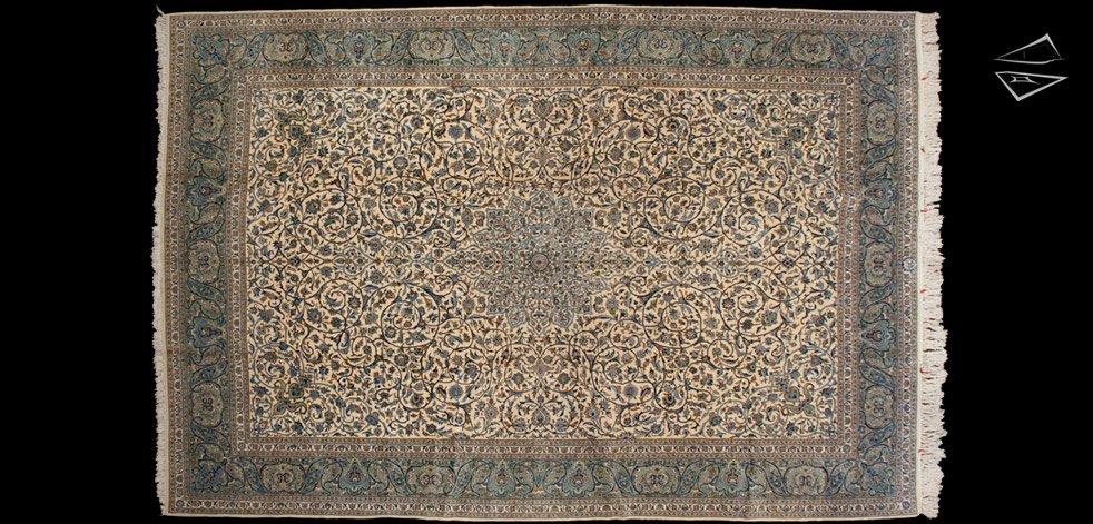 11x16 Persian Kashan Rug