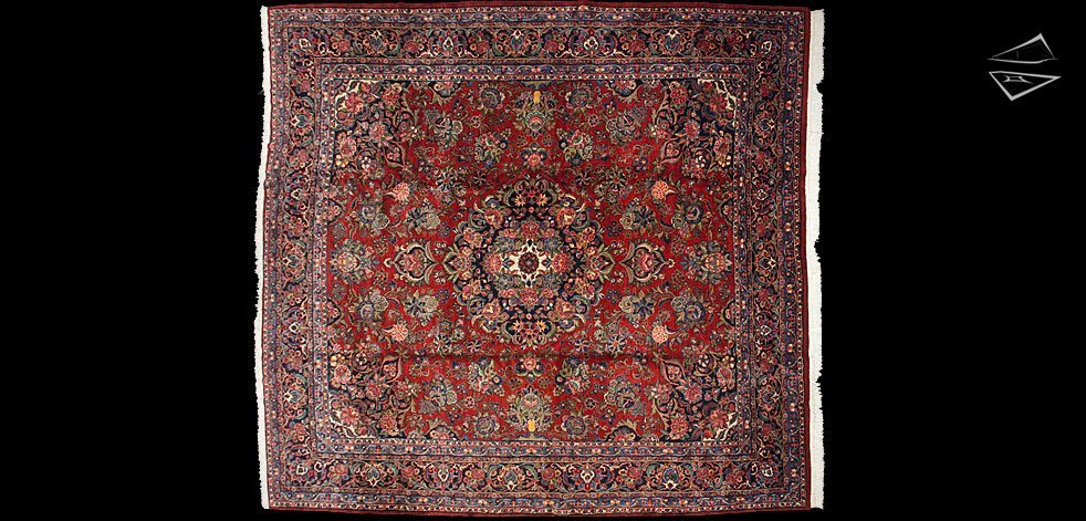 12x13 Persian Kazvin Rug
