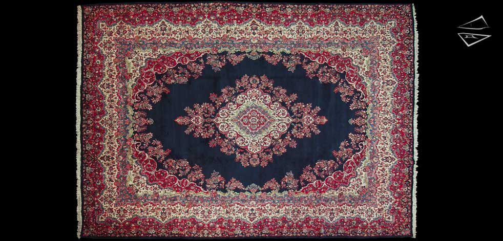 12x17 Persian Kazvin Rug