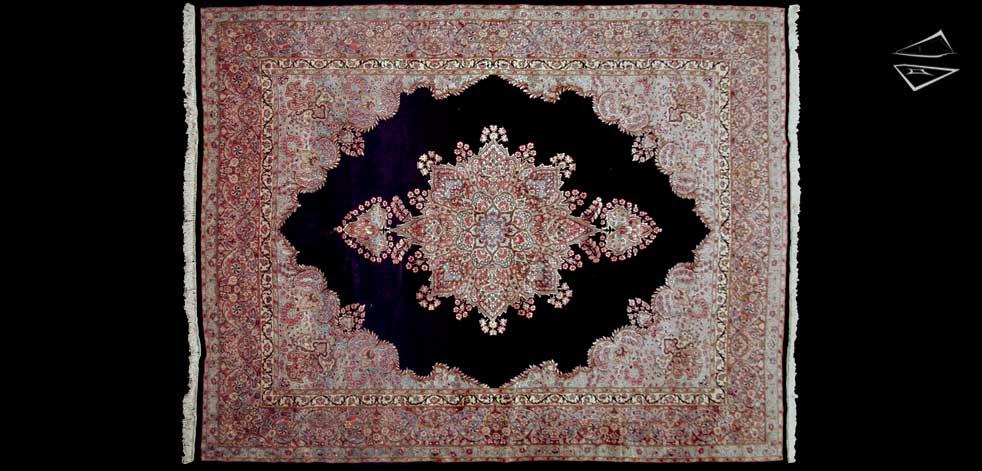 10x13 Persian Kerman Rug