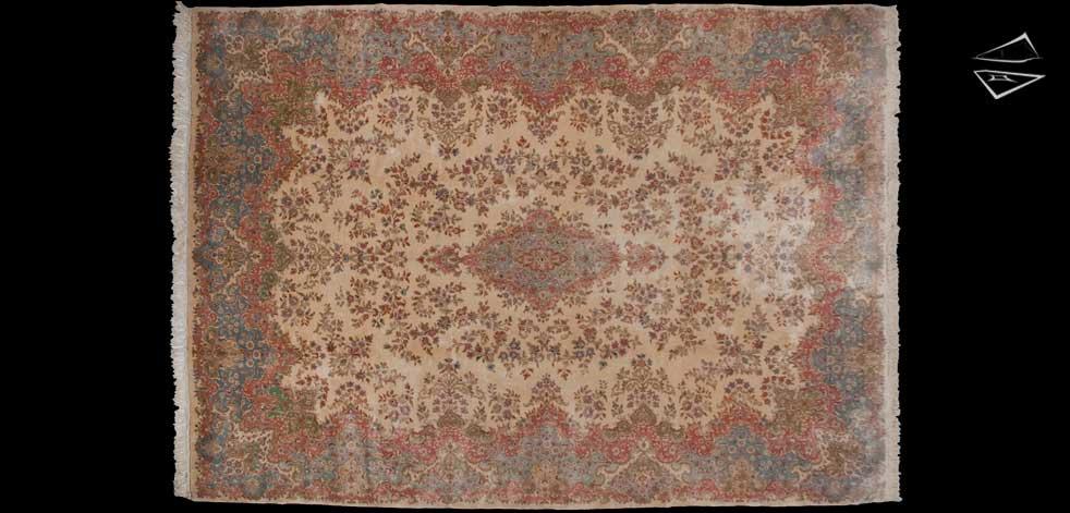 10x14 Persian Kerman Rug