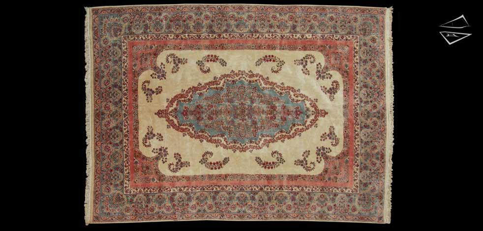 10x15 Persian Kerman Rug