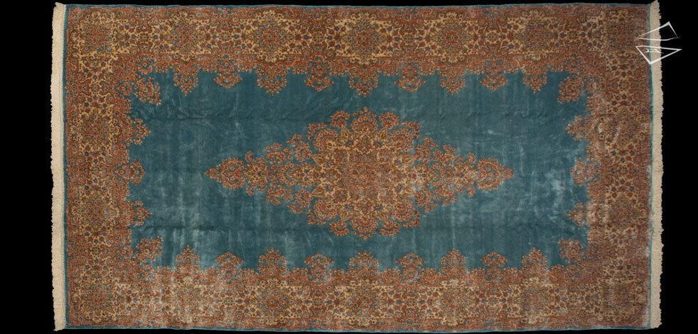 10x18 Persian Kerman Rug