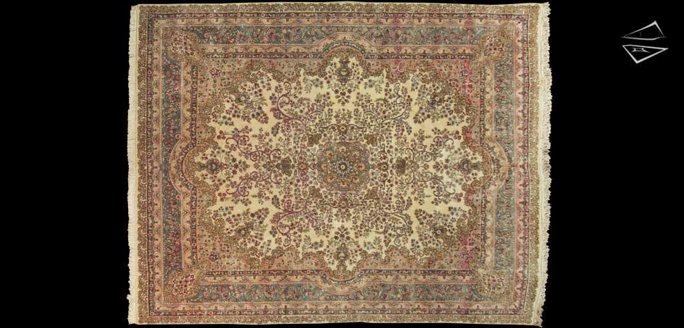 11x14 Persian Kerman Rug