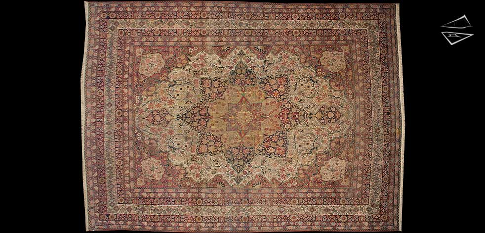 11x15 Persian Kerman Rug