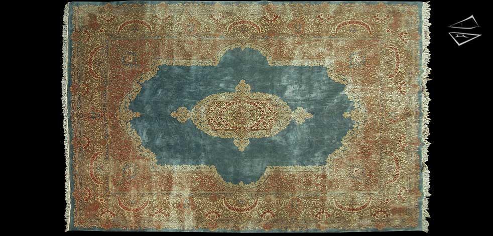 11x17 Persian Kerman Rug