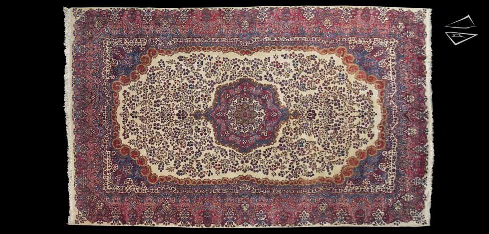 11x18 Persian Kerman Rug