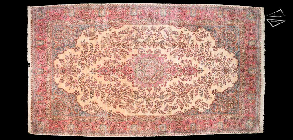 11x20 Persian Kerman Rug
