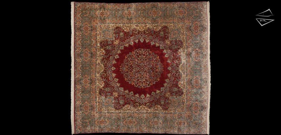12x12 Persian Kerman Rug