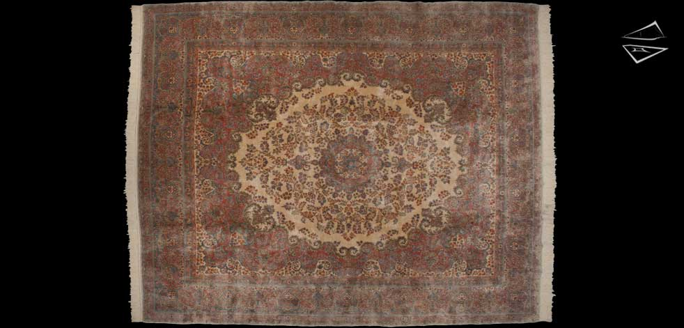 12x15 Persian Kerman Rug