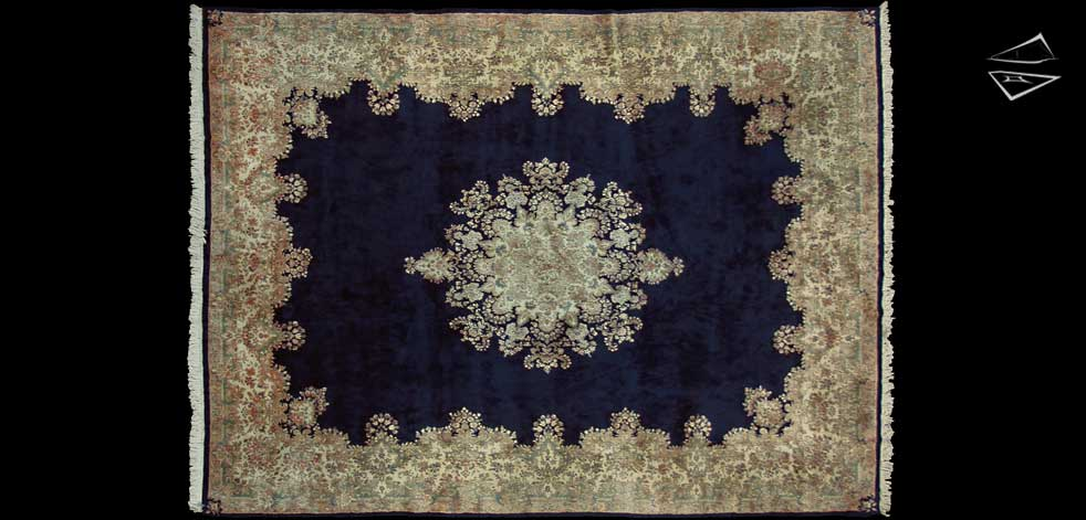 12x16 Persian Kerman Rug
