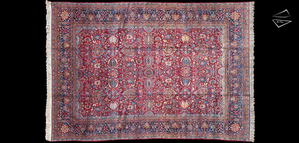 12x17 Persian Kerman Rug