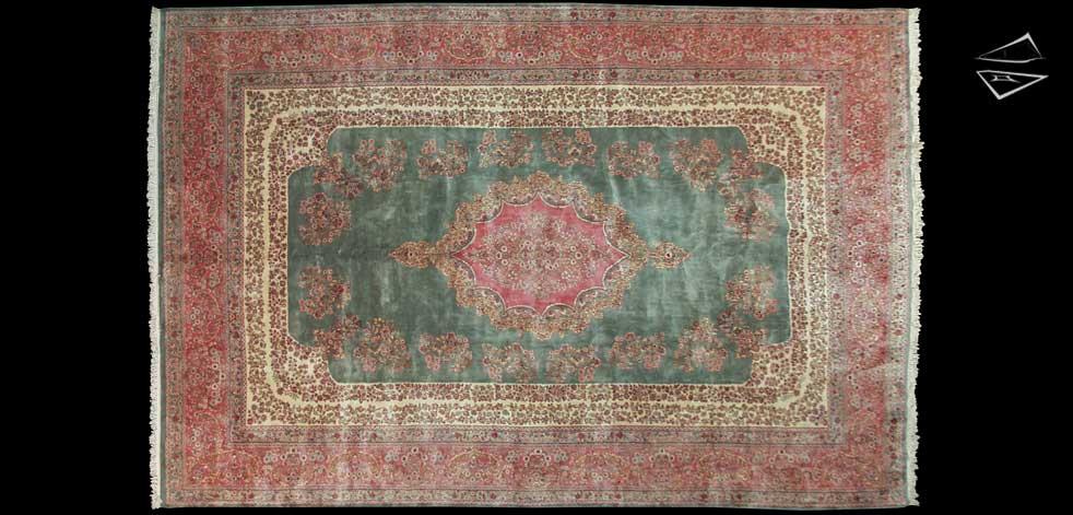 12x18 Persian Kerman Rug