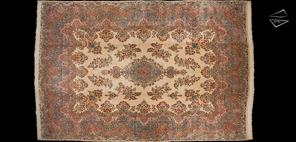 12x18 Persian Kerman Rug