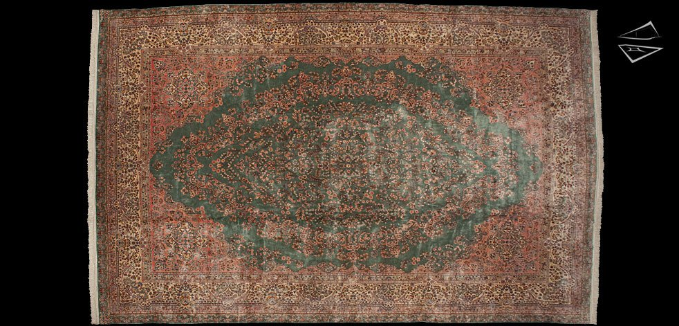 12x19 Persian Kerman Rug