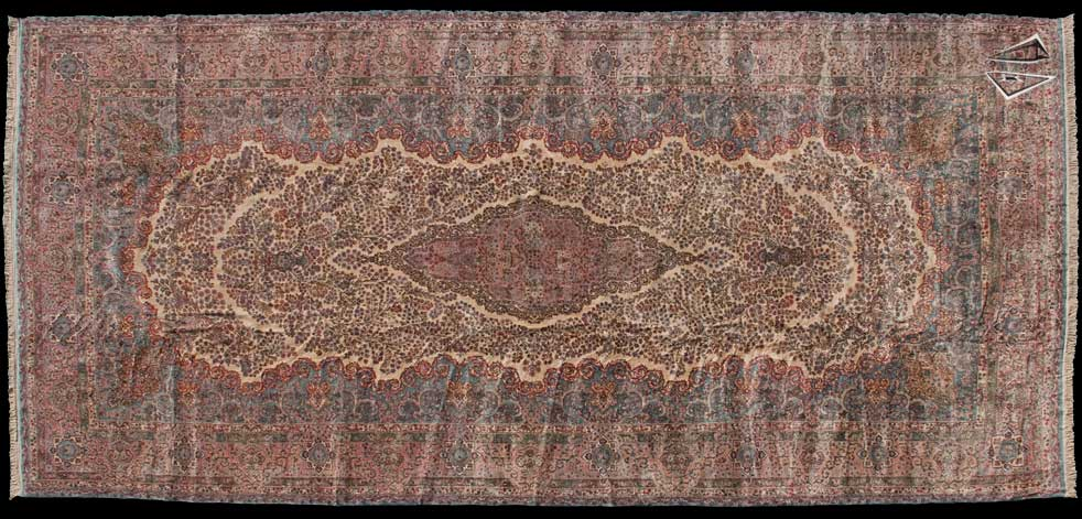 12x26 Persian Kerman Rug