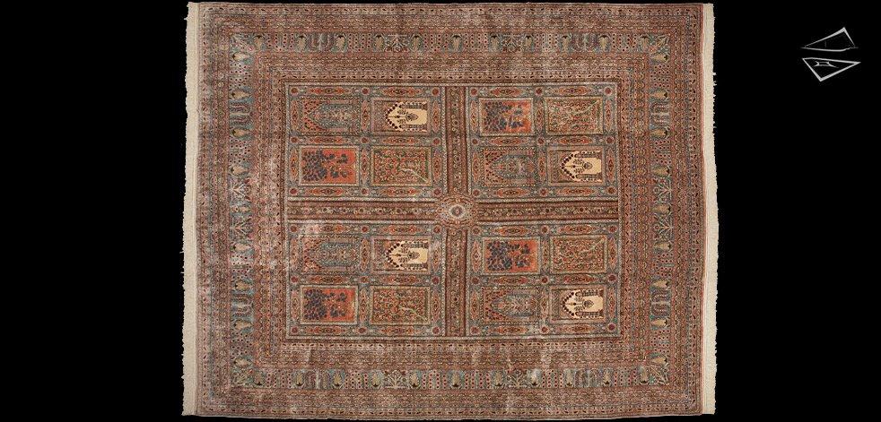 13x16 Persian Kerman Rug