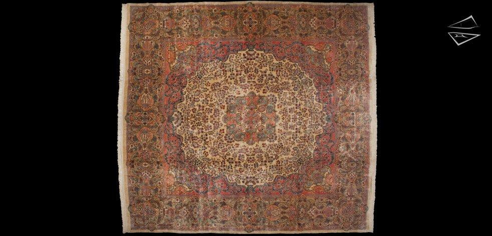 14x15 Persian Kerman Rug