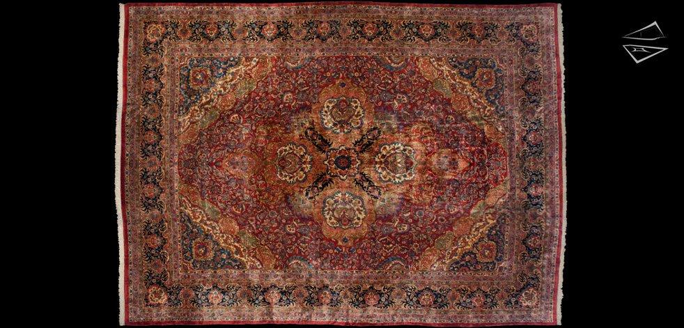 14x19 Persian Kerman Rug