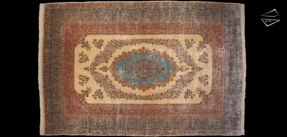 14x21 Persian Kerman Rug