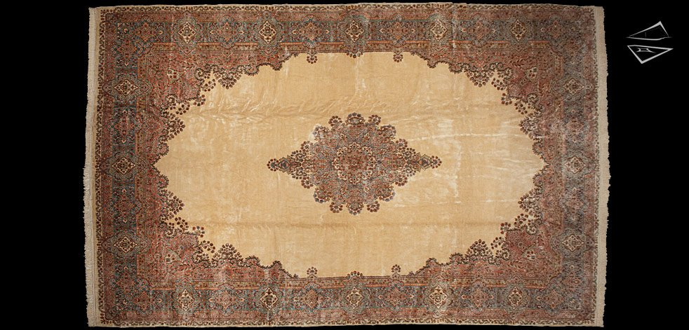 14x22 Persian Kerman Rug
