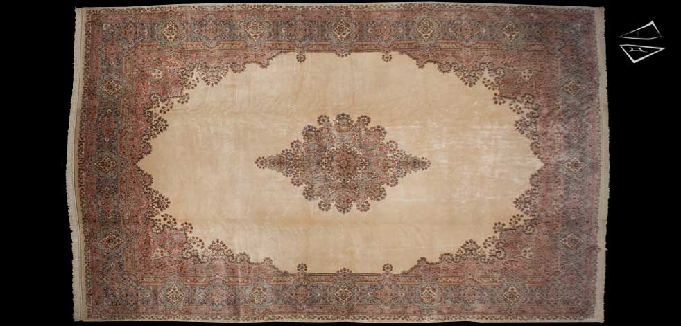 14x23 Persian Kerman Rug