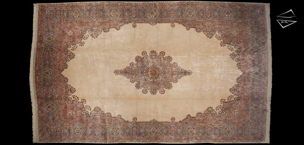 14x23 Persian Kerman Rug