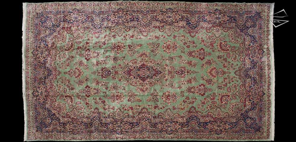 14x24 Persian Kerman Rug