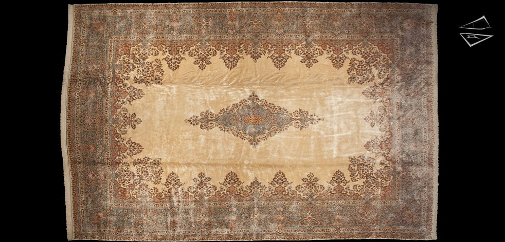 15x23 Persian Kerman Rug