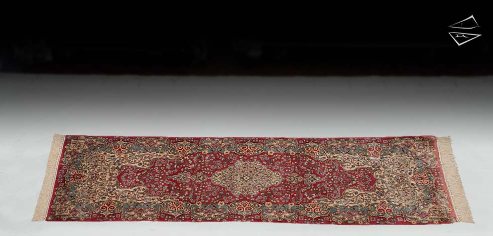 "2'6""x8 Persian Kerman Rug Runner"