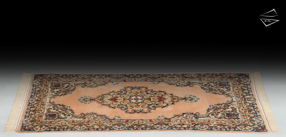 2x4 Persian Kerman Rug Runner