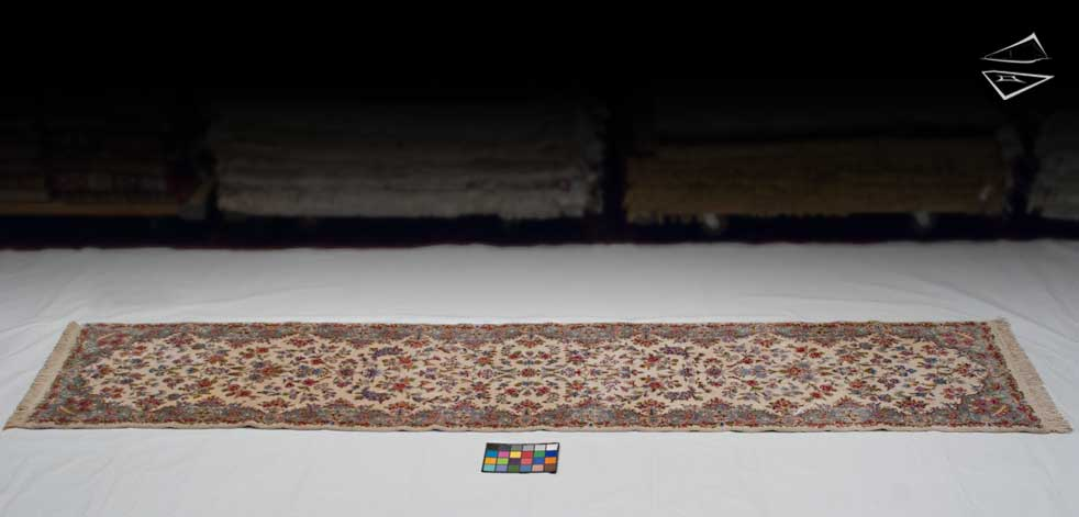 3x14 Persian Kerman Rug Runner